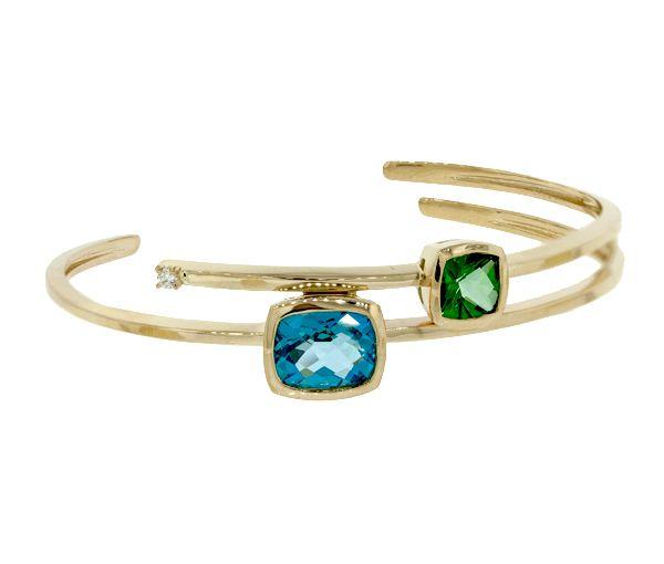 Bracelet 10k 0,036 diamants can+2 top