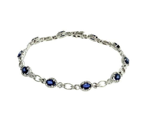 Bracelet 14k 160=0,45 diamants+10=2,65 s