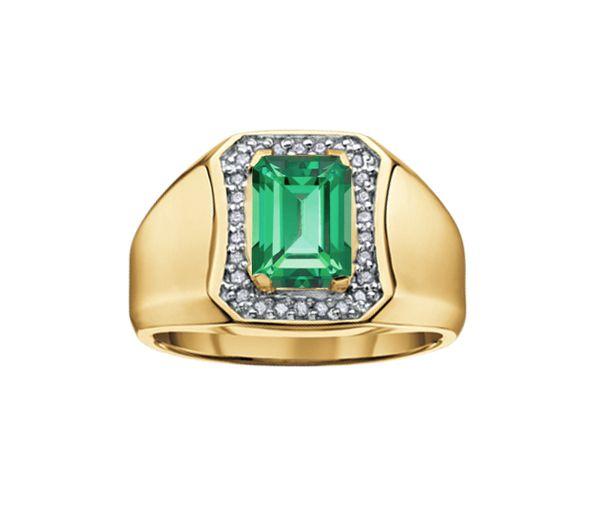 Bague 10k top.passion 26=0,15 diamant