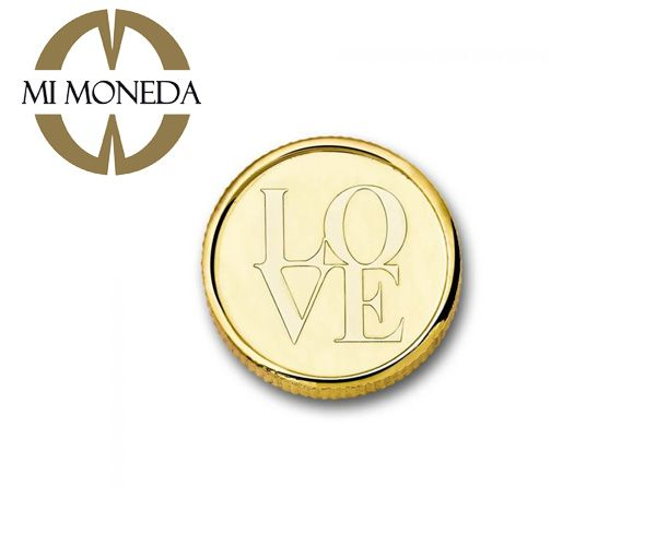 Pastille moneda pl.or love reve xs
