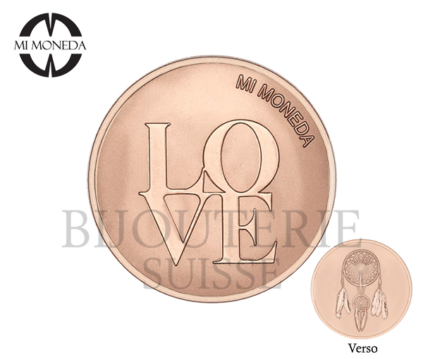 Pastille moneda pl.or love reve small