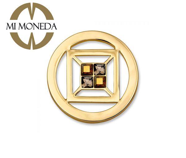 Mimoneda monnaie cubo doré swarov s
