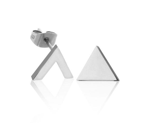 Boucles acier triangle +v