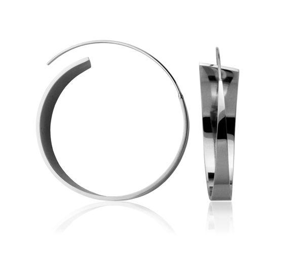 Boucles anneaux acier 38mm