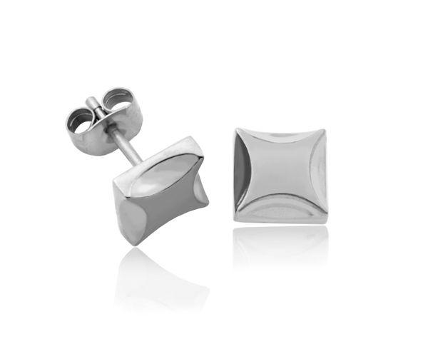Boucles acier carré 8mm