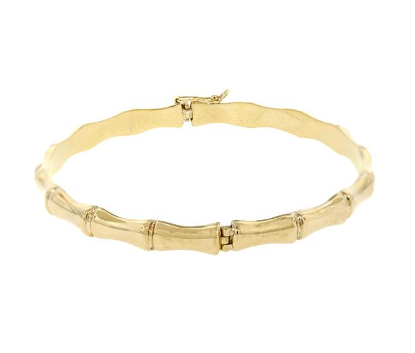 Bracelet 10k bangle 7mm