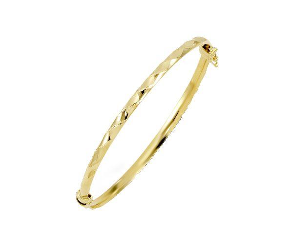 Bracelet 10k 3.5mm largeur