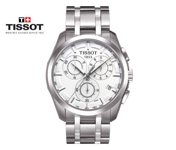 Montre tissot pour homme couturier chronograph