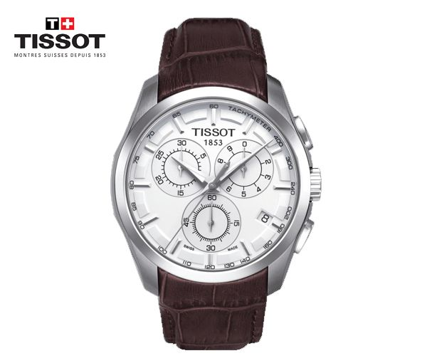 Montre tissot pour homme couturier chronographe