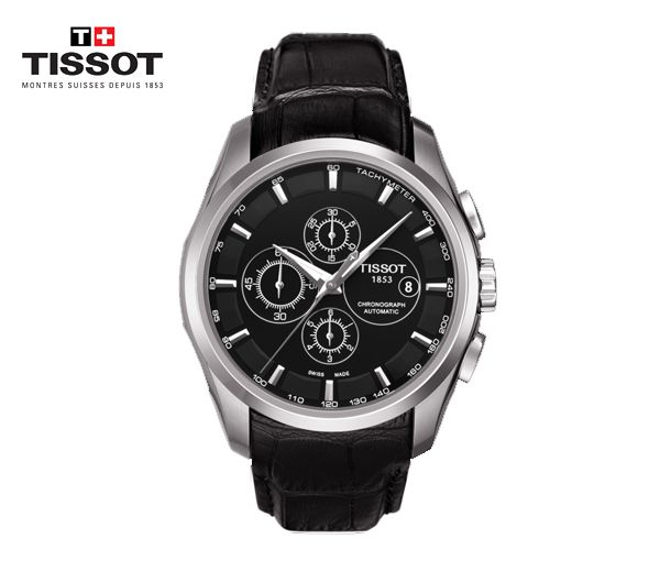 Montre tissot pour homme couturier automatic chronograph