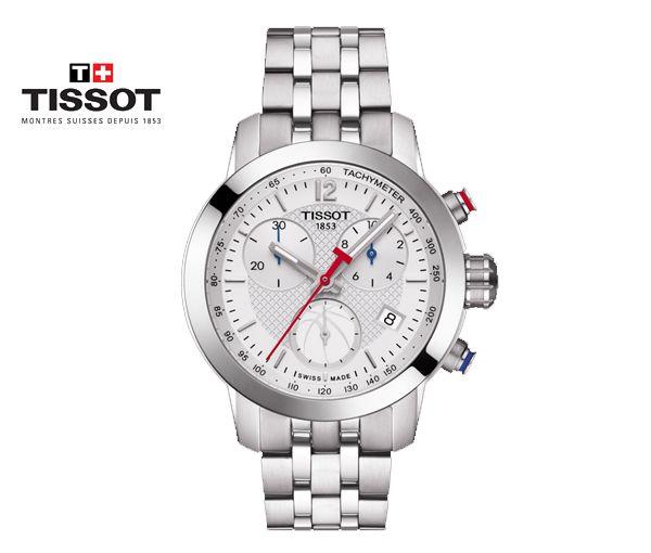 Montre tissot pour prc 200 chronograph spéciale édition nba