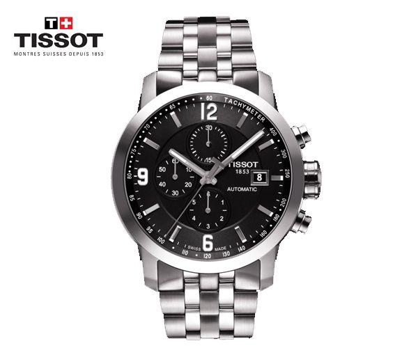 Montre tissot pour homme prc 200 automatic chronograph