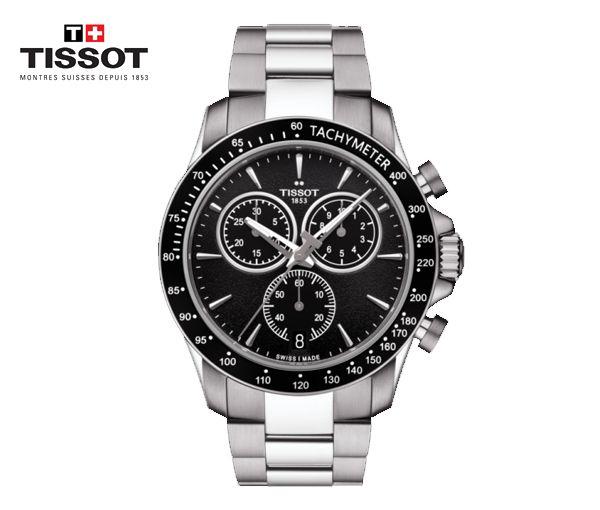 Montre tissot pour homme v8 quartz chronograph